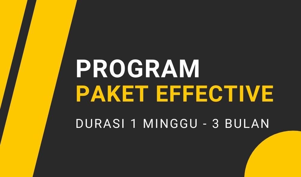 Program Paket Effective