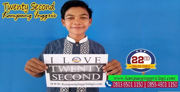 Dika Alumni Twenty Second Kampung Inggris