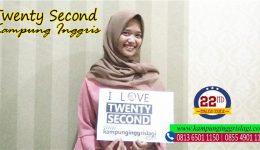 oktasiana alumni twenty second kampung inggris