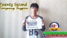 Agi Permana Efendi (Alumni Twenty Second Kampung Inggris)
