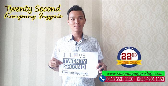 aldi (alumni twenty second kampung inggris)