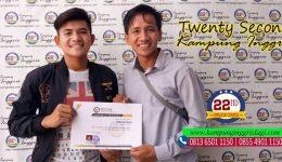 jabar salim (Alumni twenty second kampung inggris)