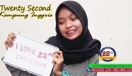 fadlia nurul (Alumni twenty Second kampung Inggris)