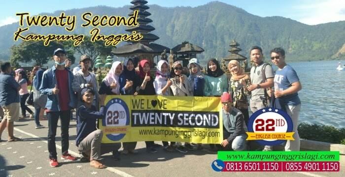liburan akhir tahun bersama twenty second kampung inggris