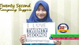 novita (alumni twenty second Kampung Inggris)