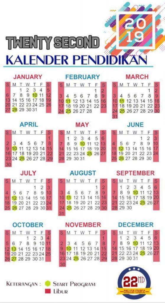 Kalendar Pendidikan 2019
