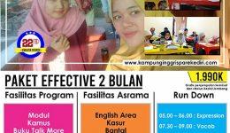 Program Effective 2 Bulan