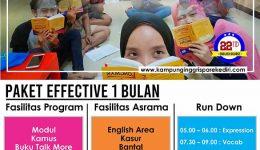 Program Efective 1 Bulan