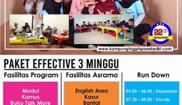 Program Efective 3 Minggu