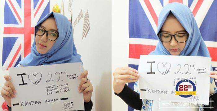 Nur Amalia Alumni Twenty Second Kampung Inggris