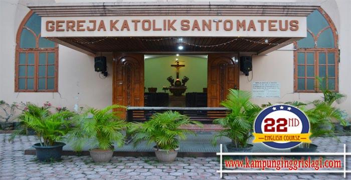 Gereja Katolik Santomateus Kampung Inggris