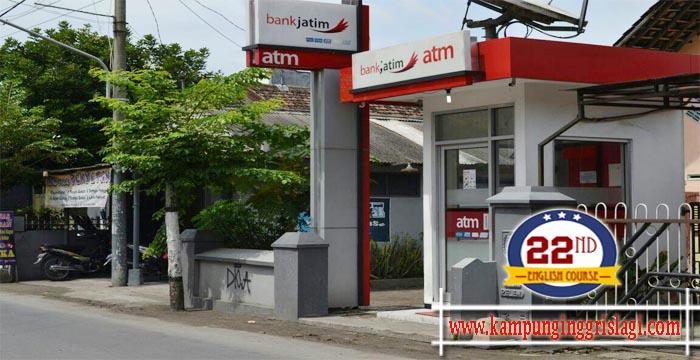 ATM Bank Jatim Kampung Inggris