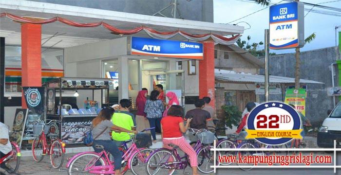 ATM BRI di Kampung Inggris