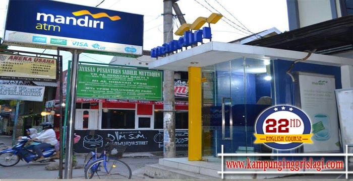 ATM Bank Mandiri Kampung Inggris