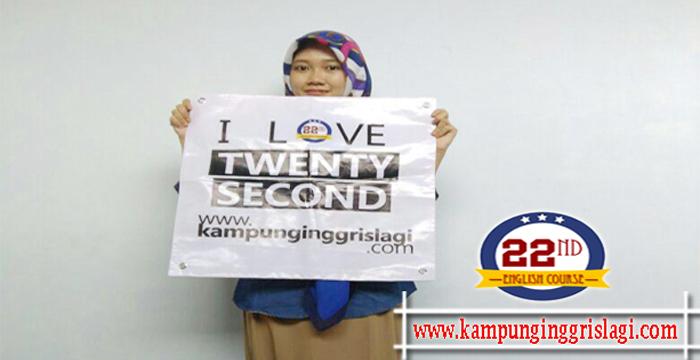 Indah Maya Alumni Twenty Second Kampung Inggris