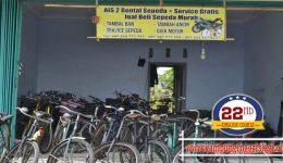 Penyewaan Sepeda di Kampung Inggris