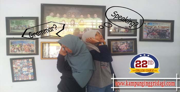 Sebenarnya kita mempelajari Bahasa Inggris, bukan Speaking atau Grammar.