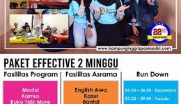 Program Efective 2 Minggu
