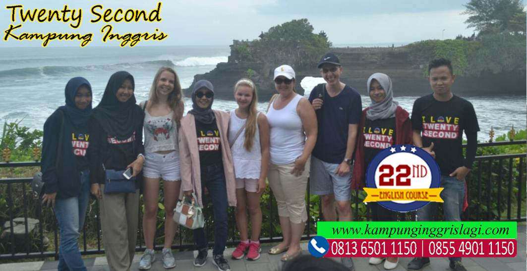 SHORT TRIP TO BALI WITH TWENTYSECOND ENGLISH COURSE
