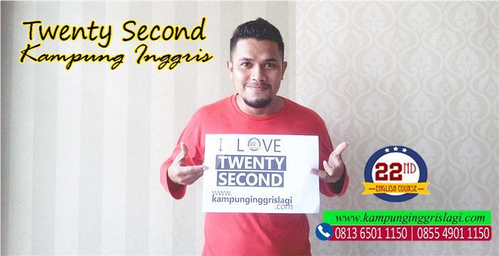 sayudin (alumni twenty second kampung inggris)