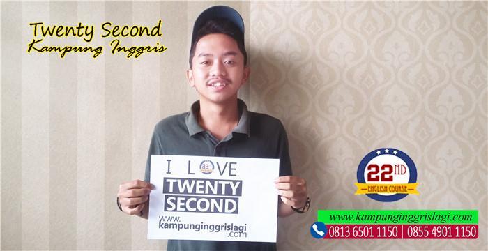 marcel (alumni twenty second kampung inggris)