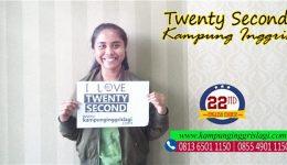 ajeng (alumni twenty second kampung inggris)