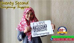 santiana alumni twenty second kampung inggris