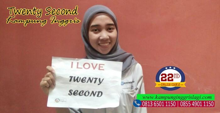 mutiara firanti (alumni twenty second kampung inggris)