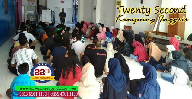twenty second english course kampung inggris