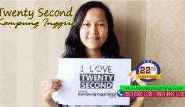 chintia (alumni twenty second kampung inggris)